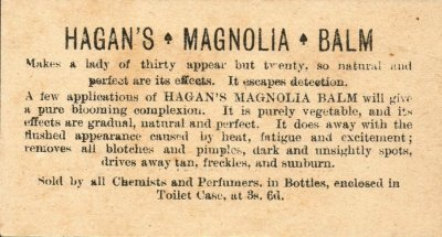 hagan hair balm ad