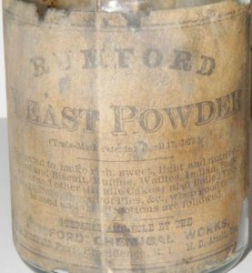 rumford four inch label