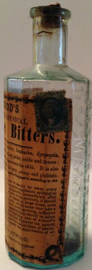 attwood bitters lable 3