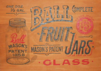 ball jar box