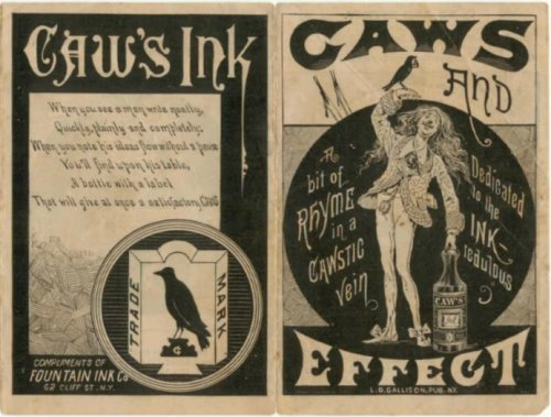 caw's ink ad