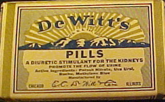 dewitts pill box