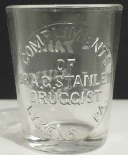 dr stanley dose glass