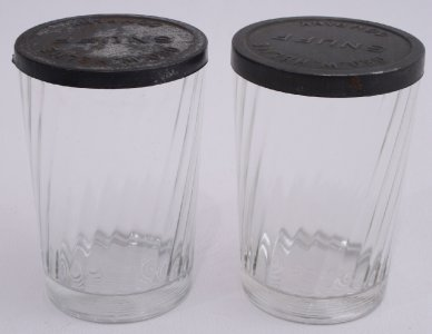 helme snuff clear jars