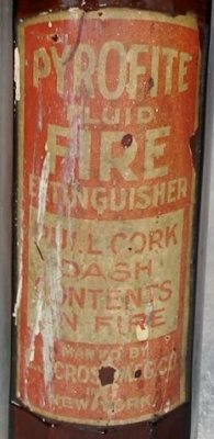 pyrofite fire bottle 3label