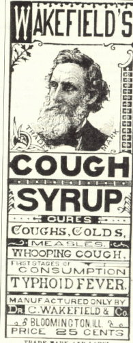 wakefield cough label